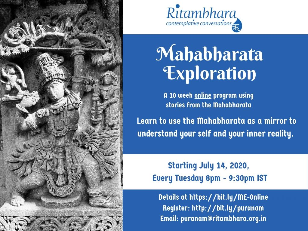 July 2020 Mahabharata Exploration