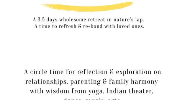 Family Retreat May 2020